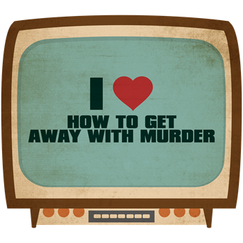 Retro I Heart How to Get Away with Murder