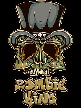 Voodoo Zombie King Skull