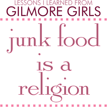 Junk Food is a Religion