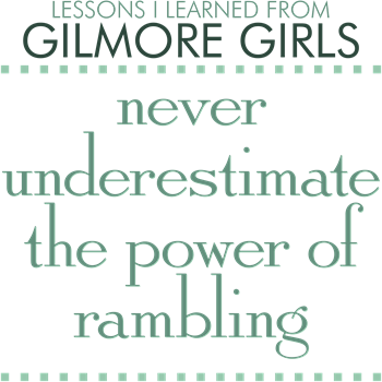 The Power of Rambling