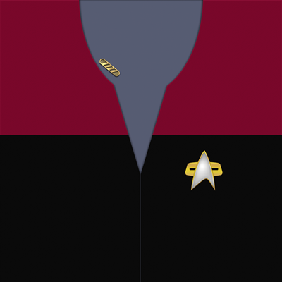 Star Trek: VOY Provisional Command Uniforms