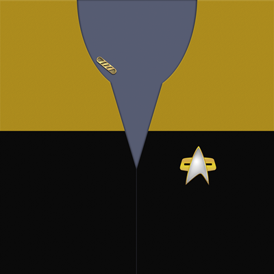 Star Trek: VOY Provisional Operations Uniforms