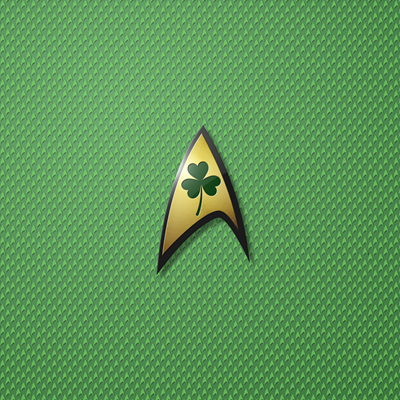Star Trek: TOS Shamrock Insignia