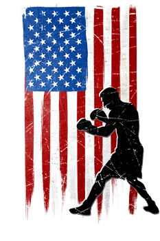 USA Flag Team Boxing