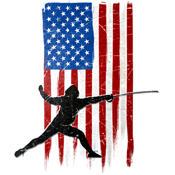 USA Flag Team Fencing