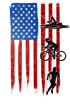 USA Flag Team Triathlon