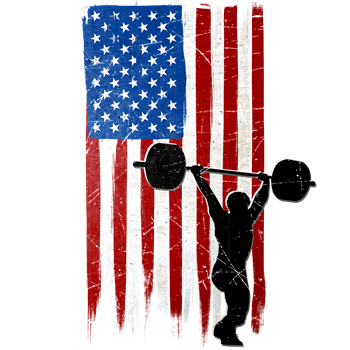 USA Flag Team Weightlifting