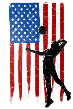 USA Flag Team Volleyball