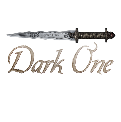 Personalized Dark One Dagger