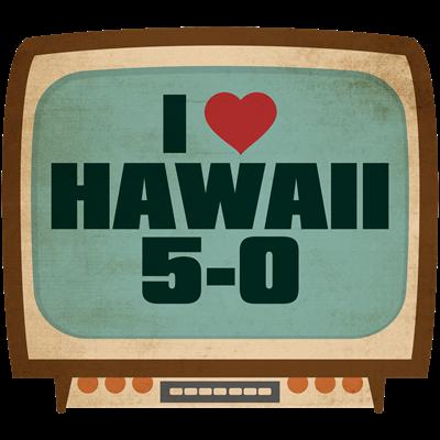 Retro I Heart Hawaii 5-0