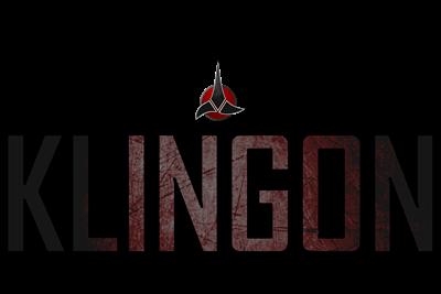 Sometimes I Pretend I'm a Klingon