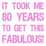 80Th Birthday Women