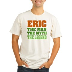 Eric The Legend Organic Men's Fitted T-Shirt