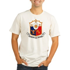 Philippines Coat of Arms Organic Men's Fitted T-Shirt