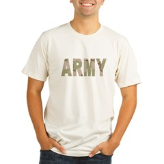 Army-Black-Shirt-2 Organic Men's Fitted T-Shirt
