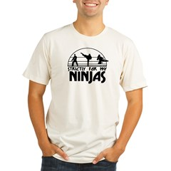 strictlyNinjas3 Organic Men's Fitted T-Shirt