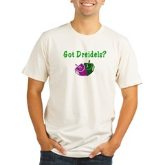 Got Dreidels Hanukkah Organic Men's Fitted T-Shirt