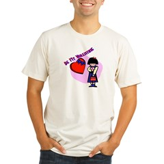 bemyvalentinegirl.bmp Organic Men's Fitted T-Shirt