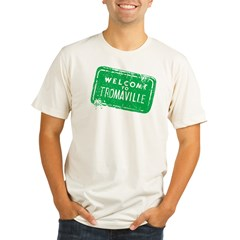 Welcome to Tromaville Organic Men's Fitted T-Shirt