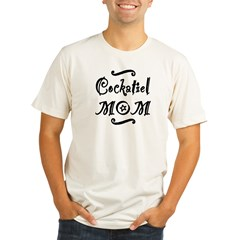 Cockatiel MOM Organic Men's Fitted T-Shirt