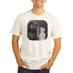 TV Organic Men's Fitted T-Shirt