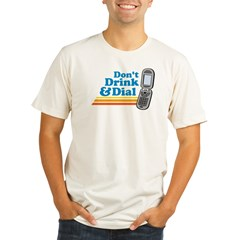 drunk dial Organic Men's Fitted T-Shirt
