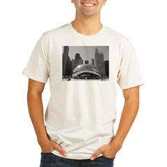 Bean, Chicago Organic Men's Fitted T-Shirt