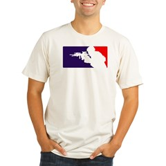 Major League Huntin... Organic Men's Fitted T-Shirt