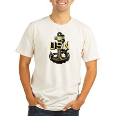 CPO Anchor Organic Men's Fitted T-Shirt