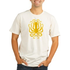 Octapus 8 Big Organic Men's Fitted T-Shirt