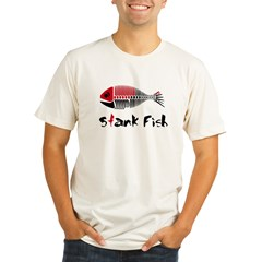 Stank Fish Organic Men's Fitted T-Shirt