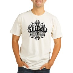 Autism-Tribal-2 Organic Men's Fitted T-Shirt