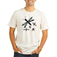 Dragonflies.png Organic Men's Fitted T-Shirt