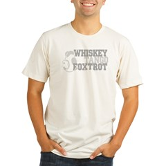 WhiskeyTangoFoxtrot3 Organic Men's Fitted T-Shirt