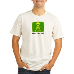 KP Park Staff Organic Men's Fitted T-Shirt