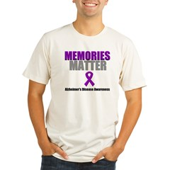 Alzheimers Memories Matter Organic Men's Fitted T-Shirt