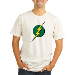 Jamaican Bolt 1 Organic Men's Fitted T-Shirt