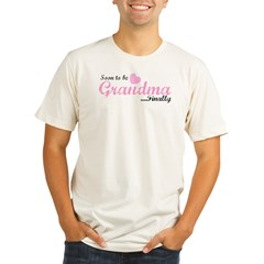 Soon to be Grandma Organic Men's Fitted T-Shirt