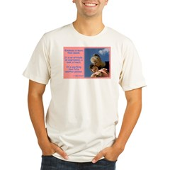 'Kindness Lifts' Organic Men's Fitted T-Shirt