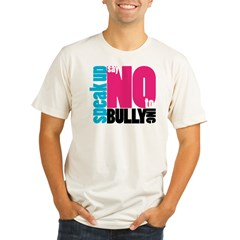 2-NoBullying Organic Men's Fitted T-Shirt