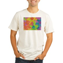 Spring Flowers Organic Men's Fitted T-Shirt
