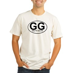 Galts Gulch Custom Tee Organic Men's Fitted T-Shirt