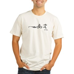 I tri copy.jpg Organic Men's Fitted T-Shirt