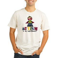 Autism is my Superpower Organic Men's Fitted T-Shirt