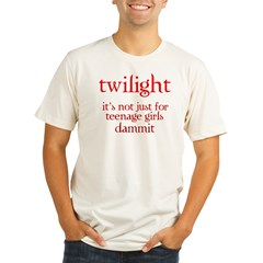twilight, Not Just for Teenag Organic Men's Fitted T-Shirt