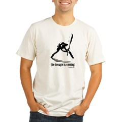 London Calling Organic Men's Fitted T-Shirt