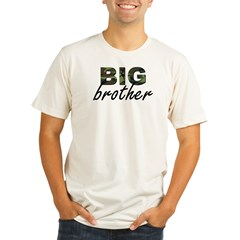 Big brother camo Organic Men's Fitted T-Shirt