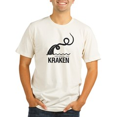 Unleash the Kraken Vintage Tee Organic Men's Fitted T-Shirt