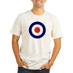 a00012_british_target Organic Men's Fitted T-Shirt