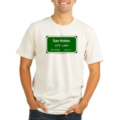 San Mateo Organic Men's Fitted T-Shirt